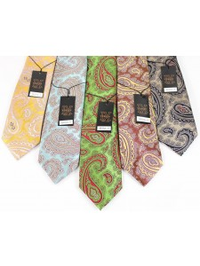 Men's Silk Tie and Pocket Square Set by Verse 9 - SEOUL 1-5