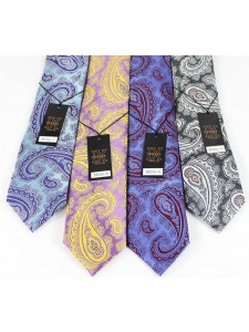 Men's Silk Tie and Pocket Square Set by Verse 9 - SEOUL 7-10