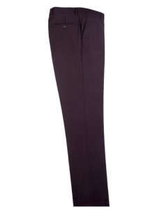 Men's Flat-Front Pants by Tiglio - Brown