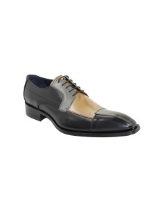 Duca by Matiste Men's Shoes - Made in Italy - Torino - Black Combo