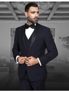 Men's Formal Tux - Modern Fit - Navy Tux