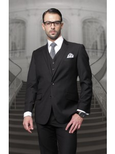 Men's Suit - Regular Fit - Black