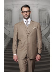Men's Suit - Regular Fit - Bronze