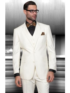 Men's Suit - Regular Fit - Off White