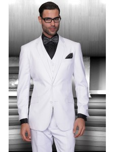 Men's Suit - Regular Fit - White