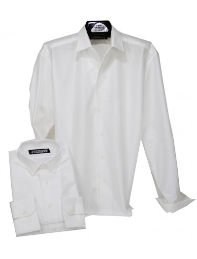 Giovanni Marquez Italian Cotton Shirt - White
