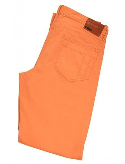 Tiglio Men's Jeans - Orange