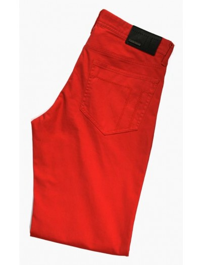 Tiglio Men's Jeans - Red