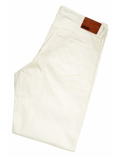 Tiglio Men's Jeans - White