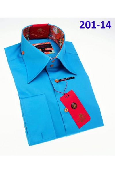 Men's Fashion Shirt by AXXESS - Turquoise