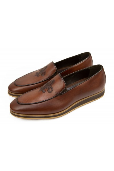 Giovanni Marquez Men's Shoes - Slip-On / Crest Coco a