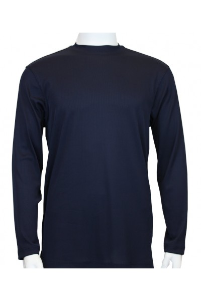 Bassiri L/S Mens Knit - Navy