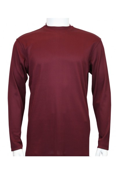 Bassiri L/S Mens Knit - Plum