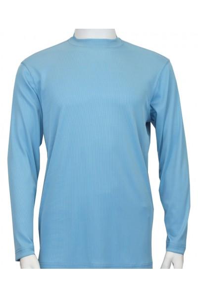 Bassiri L/S Mens Knit - Turquoise