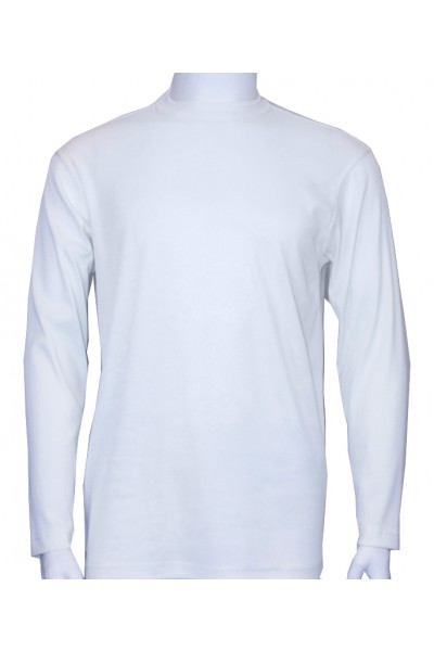 Bassiri L/S Mens Knit - White