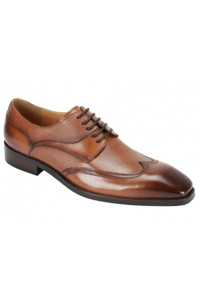 Lace-Up Men's Shoe by Giovanni - Tan