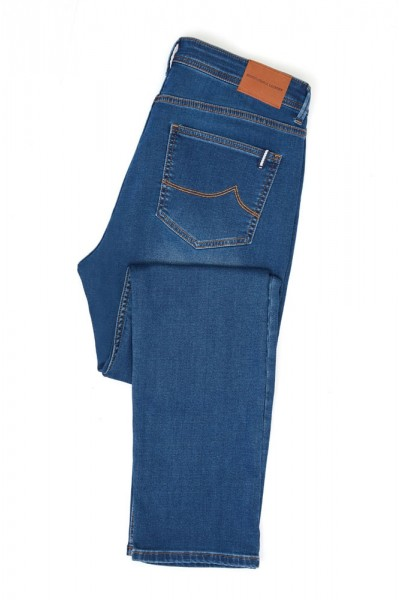International Laundry Men's Denim Jean Collection - Blue Washed Denim
