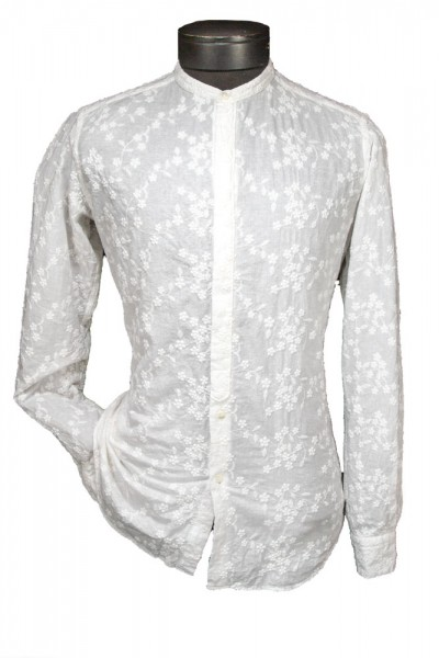Giovanni Marquez Italian Cotton Shirt - Floral Spray