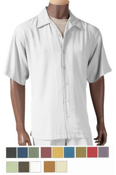 Men's Hi-Twist Microfiber Fashion Shirt by Merc/InSerch - 14 Colors