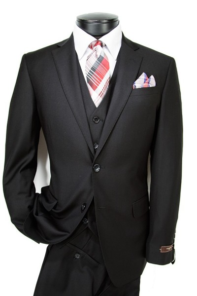 Vitarelli Fashion Fit Mens Suit - 15 Colors h