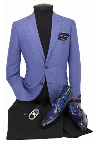Men's Blazer by Tiglio Luxe - Firenze PBlue