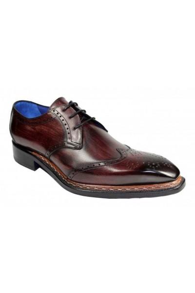 Men's Shoes by Emilio Franco - Adamo Burgundy