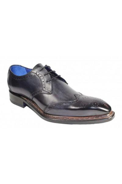 Men's Shoes by Emilio Franco - Adamo Dark Grey