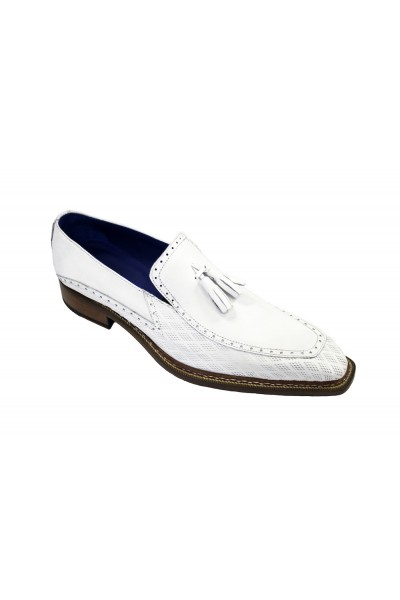 Men's Shoes by Emilio Franco - White