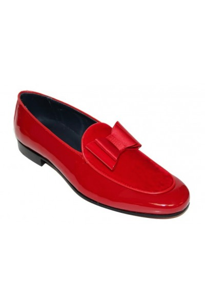 Duca by Matiste Men's Shoes - Made in Italy - Amalfi Red