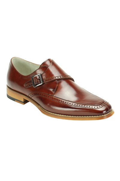 Men's Slip-On Shoe by Giovanni - Amato Cognac