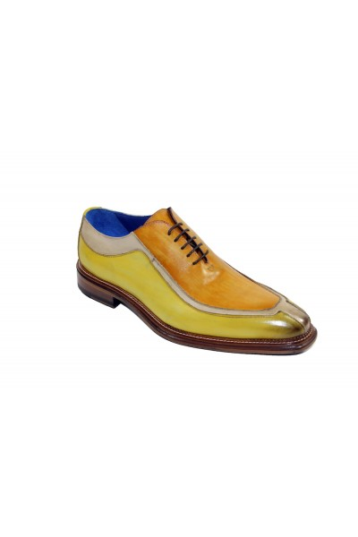Men's Shoes by Emilio Franco - Tri Tone / Yellow