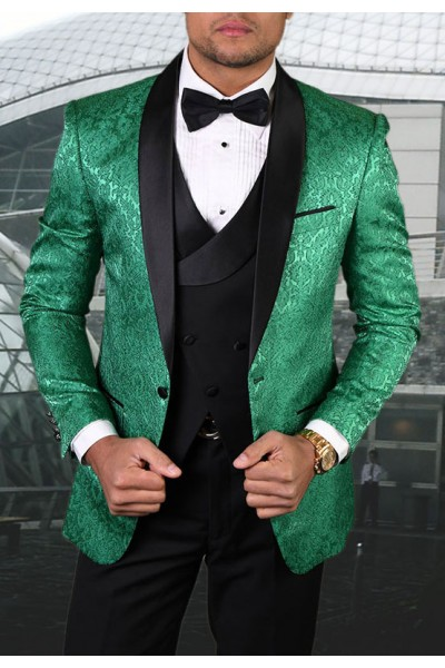 Men's Tux - Tailored Fit - Bellagio-14 Emerald a