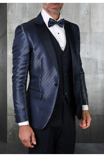 Men's Tux - Slim Fit - Bellagio-20 Navy