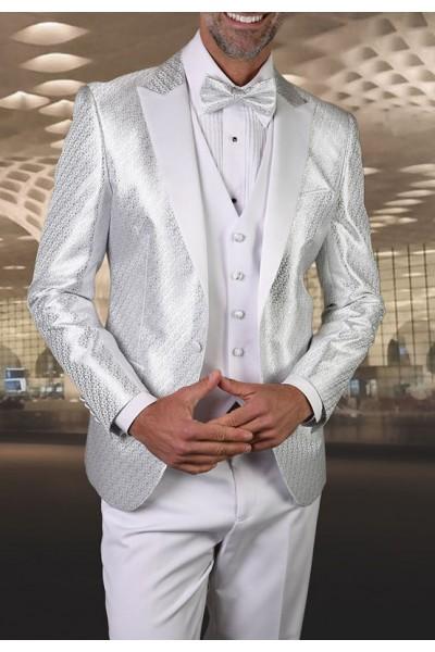 Men's Tux - Slim Fit - Bellagio-20 White