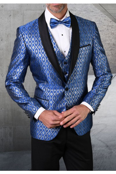 Men's Tux - Tailored Fit - Bellagio-21 Royal a
