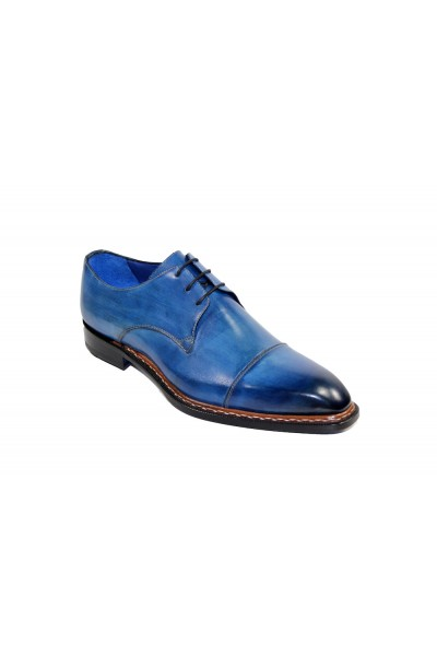 Men's Shoes by Emilio Franco - Ocean Blue