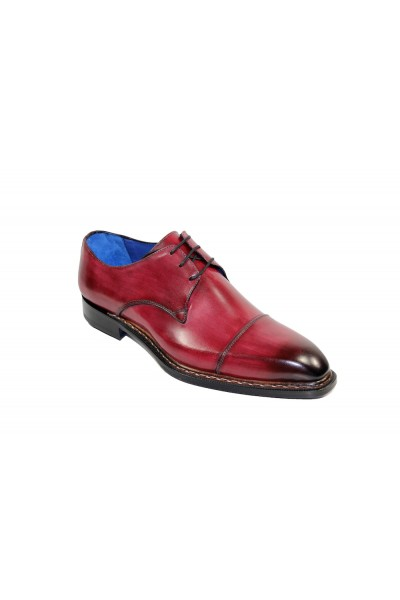 Men's Shoes by Emilio Franco - Wine