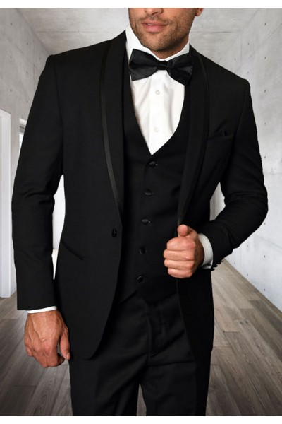 Men's Tux - Tailored Fit - Caesar Black a