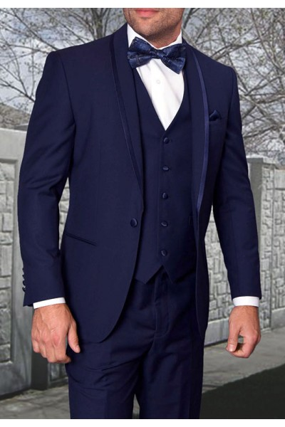 Men's Tux - Tailored Fit - Caesar Navy