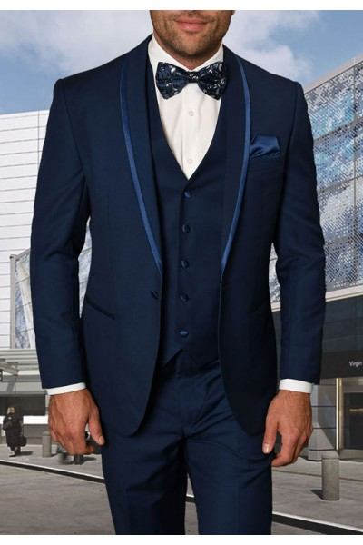 Men's Tux - Tailored Fit - Caesar Sapphire