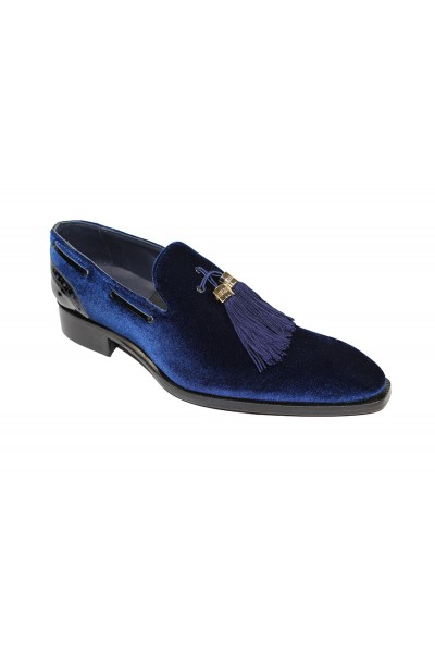 Duca by Matiste Men's Shoes - Made in Italy - Capri Blue