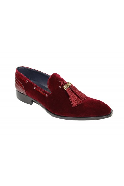 Duca by Matiste Men's Shoes - Made in Italy - Capri Burgundy