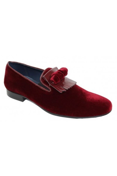 Duca by Matiste Men's Shoes - Made in Italy - Capua Burgundy