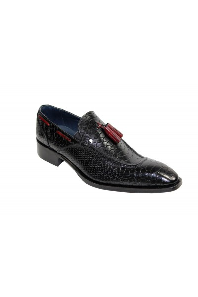 Duca by Matiste Men's Shoes - Made in Italy - Cassino Black