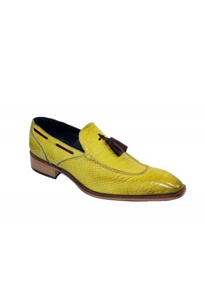 Duca by Matiste Men's Shoes - Made in Italy - Cassino Yellow