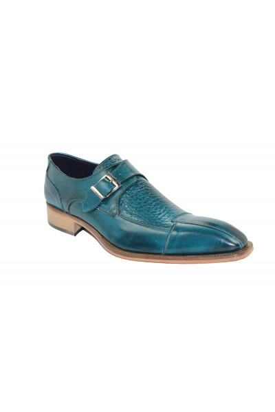 Duca by Matiste Men's Shoes - Made in Italy - Cava Teal