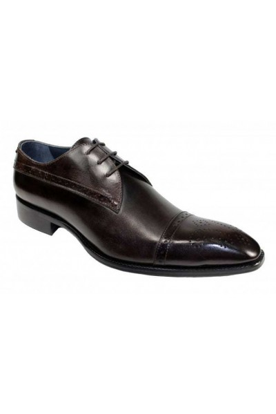 Duca by Matiste Men's Shoes - Made in Italy - Cecina Chocolate