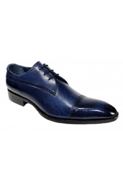 Duca by Matiste Men's Shoes - Made in Italy - Cecina Navy