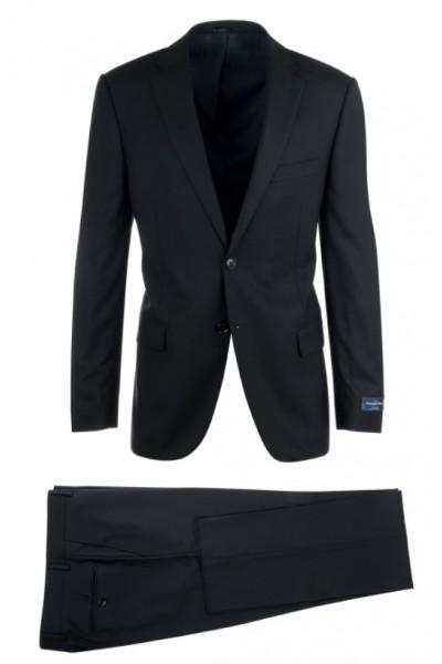 Canaletto Slim Fit Suit by Tiglio - Como Black