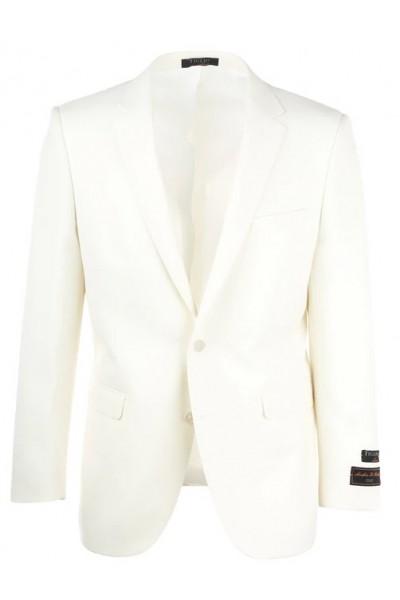 Tiglio Modern Fit Men's Blazer - Dolcetto White